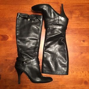 Cole Haan Nike Air Tall Black Boots